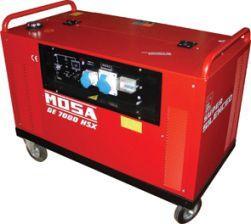 Бензиновая электростанция 5.5 кВА / 5 кВт (однофазная) - GE 7000 HSX-EAS