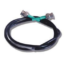 Экранир. кабель сопр. 50 Ом,BNC-BNC, дл.1 м, для подключ. осциллографа - TECNA 1438