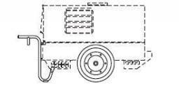 Ручная тележка для MOSA TS 300 SC/EL