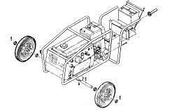 Ручная тележка для MOSA TS 250 D/EL (арт.220010130)