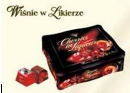 Шоколадки с вишней в ликёре