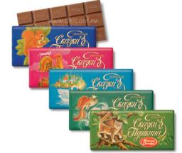 Шоколад Сказки Пушкина (100г)