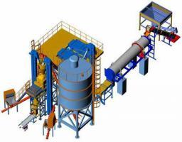 Завод строительных смесей «Строитель 1021А»