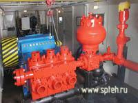 Агрегат насосный АН-320х25 для основного бурения и капремонта скважин