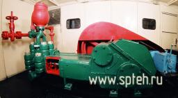 Агрегат насосный АН-125х17 в кунге