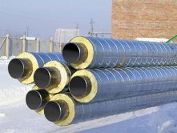 Трубы и фасонные изделия стальные в тепловой изоляции из пенополиуретана со стальным защитным покрытием, ГОСТ 30732-2006