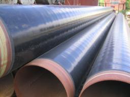 Трубы стальные с трехслойной антикоррозийной изоляцией полиэтиленом (ПЭ)