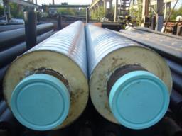 Сендвич-трубы. Трубы стальные с теплоизоляцией из минваты и ППУ с защитной оболочкой ДД 20-1220 мм