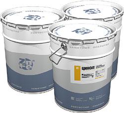 ЦИНОЛ - антикоррозионная цинкнаполненная краска