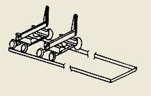 Устройство для подачи бревен АМ-178