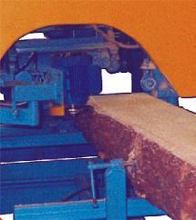 Деревообрабатывающий станок для подрезки коры АМ-166