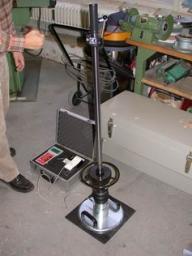 Установка для измерения плотности грунта