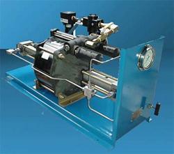 Мобильная гидросистема Test Pac 1000 Haskel для подачи жидкостей под давлением, опрессовки, гидроиспытаний