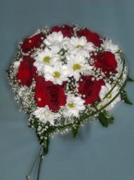 Букет невесты Свадебное сердце, 1600р