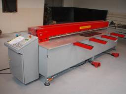Сварочные машины средней степени автоматизации для листов(плит), фирмы INGENIA моделей S econo / L-S econo / PL-S econo
