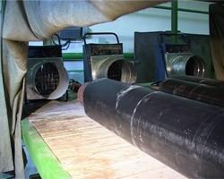 Шкаф предварительной тепловой обработки труб