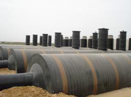 Горизонтальные полиэтиленовые резервуары