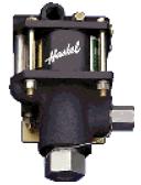 Промышленные насосы и компрессоры Haskel, Milton Roy с пневмоприводом.