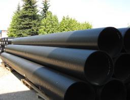 Трубы-оболочки из полиэтилена диаметром до 2200мм.