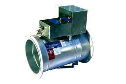 Клапан огнезадерживающий КЛОП-1