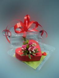 Цветочная Валентинка - признание в любви