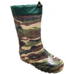 Мужские сапоги камуфляжные (резиновые утепленные)