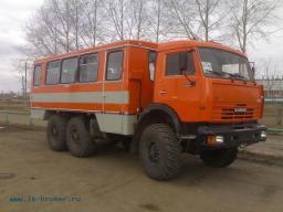НЕФАЗ - 4208-18 Вахтовые