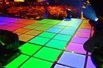 Световой пол для дискотеки