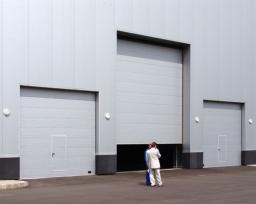 Автоматические секционные промышленные ворота DoorHan-Новосибирск