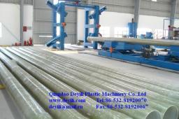 Линия по производству стеклопластиковых электрических труб-оболочек