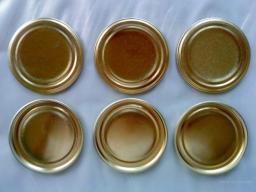 Крышка для консервирования (золото, жестяная) г. Сузун