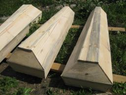 Гроб деревянный под обивку