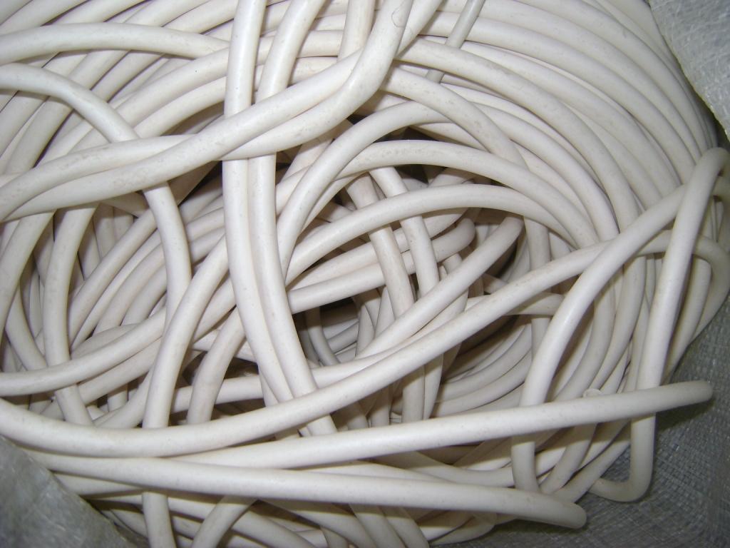 Трубка силиконовая р/с ИРП 1338 размер 7х2 мм белого цвета