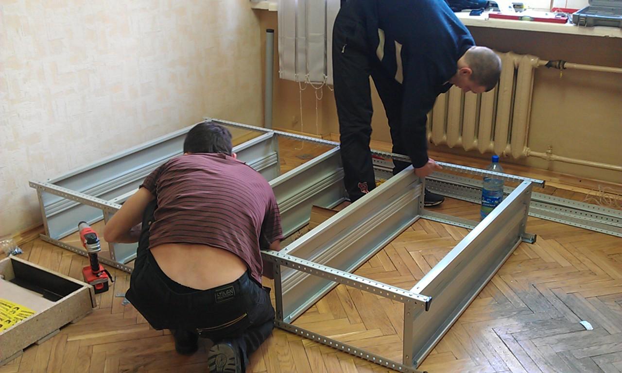 Вакансии в москве монтажник по сборке стелажей