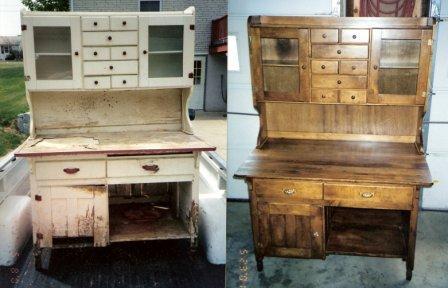 Как восстановить старую мебель своими руками видео