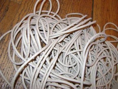 Резиновый шнур, мягкий, морозостойкий, круглый. Диаметр 4 мм