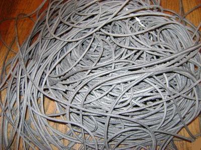 Резиновый шнур диаметр 3,2 мм из маслобензостойкой резины