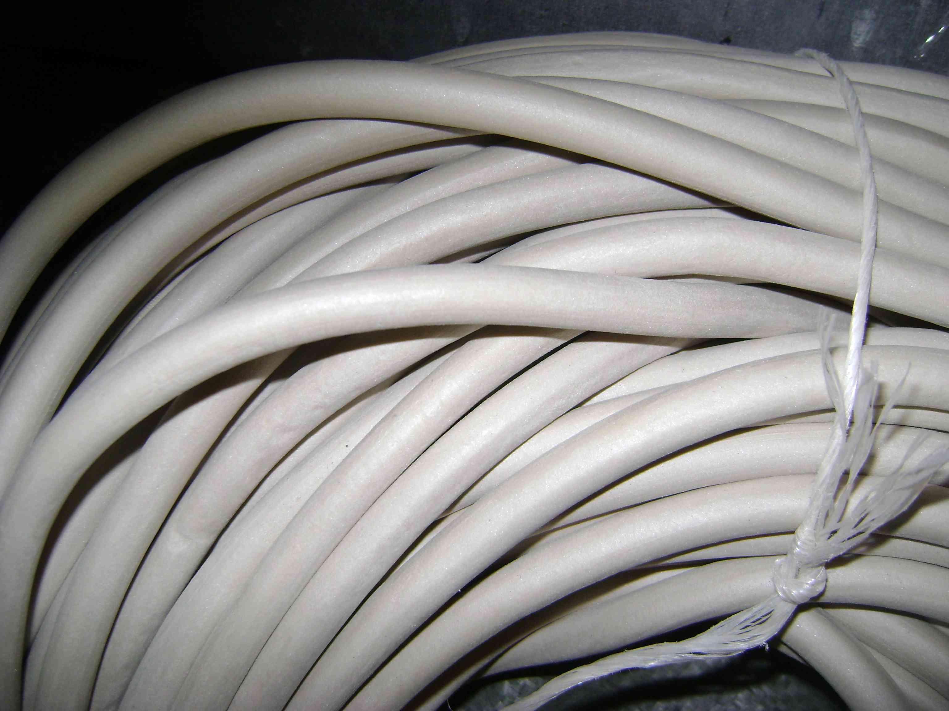 Шнур силиконовый круглого сечения д 8 мм резина ИРП 1338