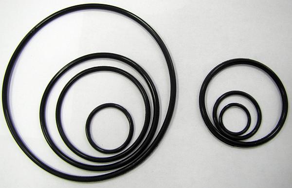 Кольцо резиновое 325-335-58-2-4 по ГОСТ 9833-73