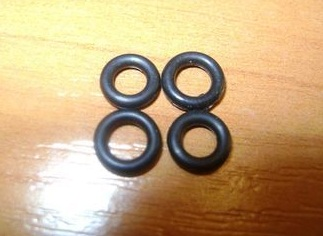 Резиновое кольцо 020-023-19-2-3
