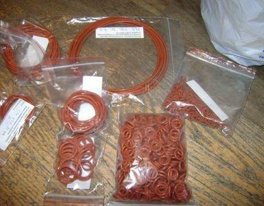 Кольцо резиновое 036-042-36-2-6 (фторкаучук)