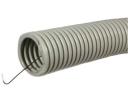 Гофра 16 мм легкого типа ПВХ с протяжкой, серый Производитель: РуВинил
