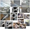 Заделка и герметизация трещин в корпусных деталях. Антикоррозионная обработка сварных швов