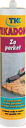 Герметик для паркета и деревянных материалов Текадом Паркет, цвет: вишня