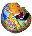 Кресло мешок детское, флок