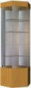 Витрина стеклянная шестигранная ШВСК 80