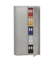 Бухгалтерский шкаф - M 18, 2-х дверный шкаф с распашными дверьми, 4 полки.