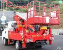 Автовышки SKY JUMBO 180 Q (18 м) с поворотной люлькой на базе грузовика KIA Bongo 2012 года