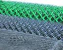 Сетка плетеная (рабица) с покрытием