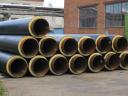 Труба стальная ППУ-ПЭ с ОДК 76×160